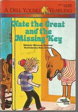 Nate the Great and the Missing Key Marjorie Weinman Sharmat/Marc Simont PB 1982