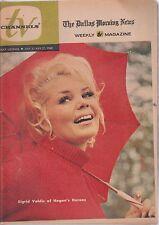 Vintage TV Channels Sigrid Valdis  Hogan's Heroes  Dallas Morn News July 21 1968