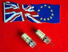 2 x 20 watt 12 volt Halogen Bulb Replacements -  LED Bulbs - 91.8% Energy Saving