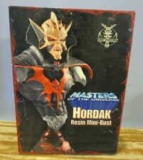 2004 NECA 4 Horsemen MOTU He-Man HORDAK Resin Mini Bust  75/75 Artist Proof