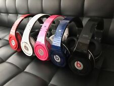 Monster Beats by Dr Dre Studio WIRED Over-the-Ear Headphone Black Red Blue