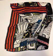 gucci silk scarf 90 X 90 cm. Compare $495