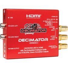 Decimator Version 2 Simultaneously Scales SDI to Both HDMI and NTSC/PAL