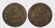 GENOVA - REPUBBLICA III FASE 1637-1797 -MI/ 5 SOLDI 1793