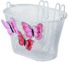 Kinderfahrradkorb Basil Jasmin Butterfly - weiß