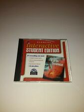 Glencoe Earth Science Interactive Student Edition PC MAC CD geological learning!