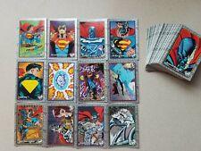 1993 Skybox The Return of Superman Complete Base Set of 100 Cards