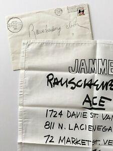 Robert Rauschenberg Jammers 1976 Serigraph Invite Print Ace Venice Modern