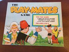 Vintage 1958 The Play Mates Game CADACO-ELLIS Children Around the World Rummy