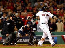David Ortiz Boston Red Sox UNSIGNED 8x10 Photo