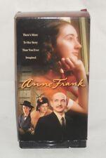 2 VHS Video Set ANNE FRANK Ben Kingsley Brenda Blethyn Hannah Taylor Gordon WWII