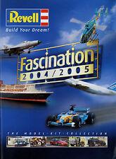 Katalog Revell 2004 2005 Kits Bausätze Auto Schiff Motorrad Flugzeug Helicopter