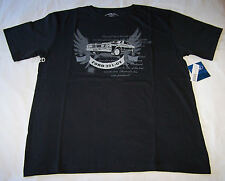Ford Falcon XY GT Mens Black Printed T Shirt Size S New