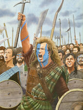Braveheart Mel Gibson Art Print 2