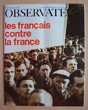 █ Le Nouvel Observateur n°173 Francais contre la France