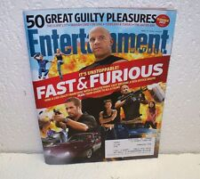 Entertainment Weekly Magazine May 17 2013 EW Fast & Furious The Rock Vin Diesel