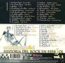 CD& DVD Historia Rock en Español 18 VIDEO CLIPS Duncan Dhu La Union Prisioneros