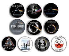 PINK FLOYD dark side of the moon pin pinback button BADGE SET ( 10 badges )