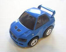 JAPAN TOMY CHORO Q MITSUBISHI LANCER EVOLUTION EVO VII 7 BLUE CAR RARE