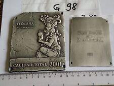 Medaille Calidad Total 2001 Diseno Especial para Merck - Mexica S.A. (G98)