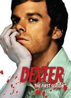 Dexter -The Complete First Season (DVD, 2007, 4-Disc Set) FACTORY SEALED