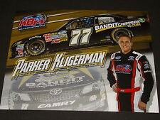 2013 PARKER KLIGERMAN #77 BANDIT CHIPPERS NASCAR POSTCARD