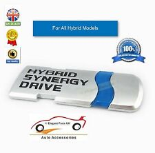 Hybrid Synergy Drive Chrome Métal Voiture Hybride Style emblèmes Décoration Autocollant
