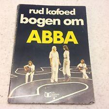 ABBA Bjorn Benny Agnetha Anni-Frid Vintage Danish Book 1977 Rud Kofoed Denmark