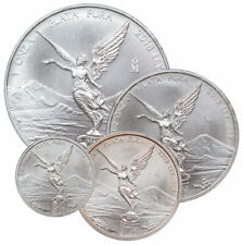 4 Coin Set 2018 Mo 1.85 oz Silver Mexican Libertads GEM BU SKU58001