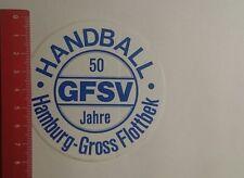 Aufkleber/Sticker: 50 Jahre GFSV Handball Hamburg Gross Flottbek (201216172)