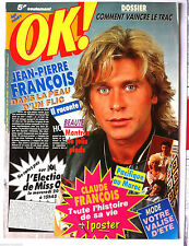 b)Ok ! âge tendre n°753; Mark Boyce/ Jean Pierre François/ Claude François + Pos