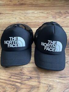 The North Face Baseball Caps x2 Black OSFM