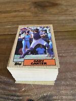 (100) 1987 Topps Gary Carter #20 New York Mets NM-MT+