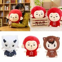 Kids Gift Animal Fashion Korean Figure Stuffed Doll Monkey King Anime Plush Toy