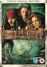 Pirates Of The Caribbean Dead Man's Chest - Special Edition - NEW Region 2 DVD