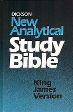 The Analytical Study Bible by John Dickson (1998, Hardcover)