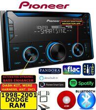 1998-2001 DODGE RAM AM/FM CD BLUETOOTH USB AUX MP3 CAR RADIO STEREO PACKAGE