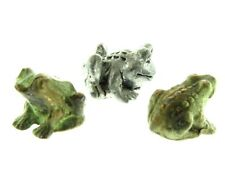 Metal Miniature Frag Figurine Set of 3