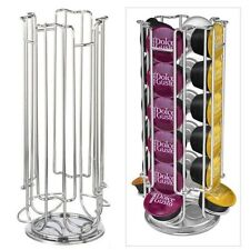 Revolving  24 Dolce Gusto Capsule Coffee Pod Holder Tower Rack Free Shipping