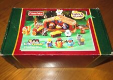 New FISHER PRICE Little People NATIVITY Light/Sound CHRISTMAS STORY 2005 in BOX