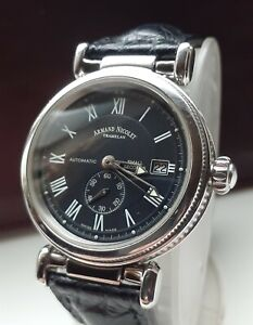 Armand Nicolet Tramelan Arc Royale AN9435A, Automatic, Date, Small Seconds 38mm