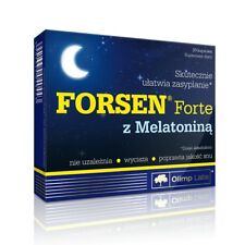 OLIMP Forsen Forte with Melatonina 30 Caps Schlaf, Regeneration, Stress