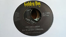 RJ's Latest Arrival 45 Cry Like a Wolf Golden Boy 7124 Electro Funk Vocoder