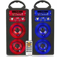 Karaoke Box Lautsprecher Bluetooth Musik Sound Box Microphone USB Radio MP3 SD