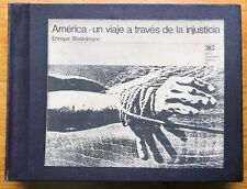 ENRIQUE BOSTELMANN AMERICA UN VIAJE A TRAVES DE LA INJUSTICIA 1970 W/CLAMSHELL
