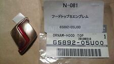 SKYLINE GTR R32 BNR32 Front Emblem Badge Hood Bonnet JDM 65892-05U00 From Japan