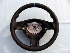 BMW M TECHNIC STEERING WHEEL E39 M5, E46 M3, NEW LEATHER AND 3 COLOR STITCHING