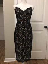 New J Crew Perfect Party Dress Black Sz 4 H2456