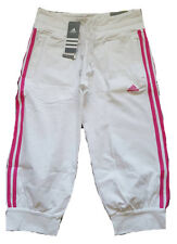 Adidas Ess 3s 3/4 Pants Capri Trousers sports bottoms Size UK 10 Womens #4337