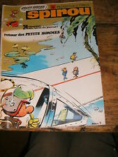 Spirou N° 1737 BD 1971 Gaston Lagaffe Sammy Tif Tondu Jerry Spring Oncle paul